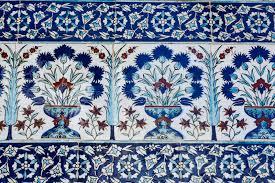 Ottoman Tiles Ottoman Tiles Stock Photo Image Of East Handmade Architectural