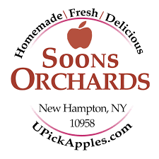soons orchards dinner menu
