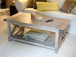 White Wood Coffee Table Decor Eye Catching Distressed Wood Coffee Table Thecritui