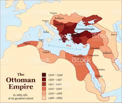 Europe And Africa Map by Turkish History The Ottoman Empire At Its Greatest Extent In 1683
