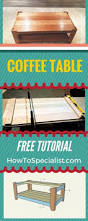Lift Top Coffee Table Plans Lift Top Coffee Table Plans Lift Top Coffee Tables Workshop