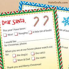 santa claus letters printable letters to santa claus