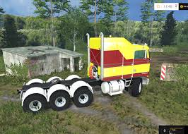 2017 kenworth cabover kenworth k100 cabover truck v 1 0 fs15 mod download