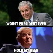 dopl3r com memes george bush worst president ever donald trump