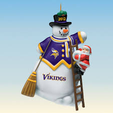 2012 annual minnesota vikings ornament the danbury mint