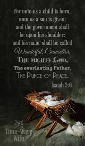 isaiah 9 6 unto us a child is born follower of christ