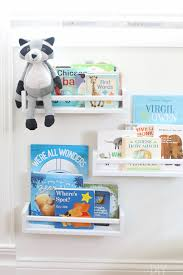 easy diy nursery bookshelves for under 4 each