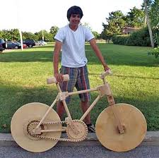 Kids Wood Crafts - weird bicycles in wonderful style cool bikes pinterest