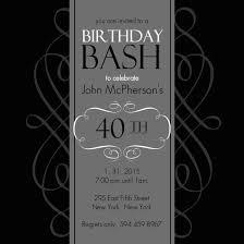 40th birthday party invitations templates free stephenanuno com
