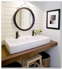 double trough sink bathroom vanity sink and faucet home