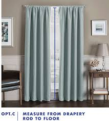 How Do I Hang A Curtain Rod How To Measure Windows For Curtains Bed Bath And Beyond Bed