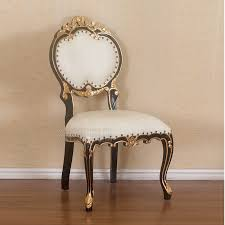black gold french chair indonesian french furniture teak