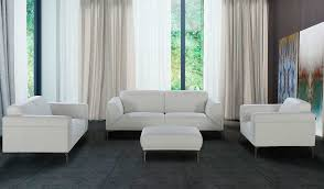 Leather White Sofa Leather Furniture San Francisco