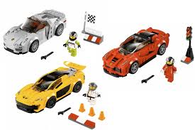 lego koenigsegg agera r 918 mclaren p1 and laferrari become lego sets