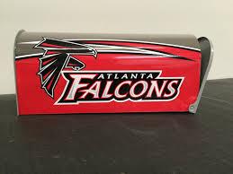 atlanta falcons mailbox