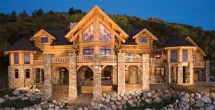 Lincoln Log Homes Floor Plans When Can I Move In I U0027ll Take Surrounding Mountains Too This