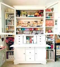 Craft Storage Cabinet Scrapbook Storage Furniture Scrapbook Storage Furniture Craft