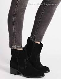 womens boots biker australia australia t024214 womens boots block heel biker boots with