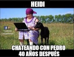 Heidi Meme - heidi chateando imágenes y memes humor pinterest funny quotes