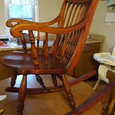 Wood Rocking Chair Antique And Vintage Rocking Chairs Collectors Weekly