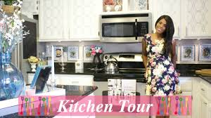 glam home beautiful kitchen tour pt 1 kitchen overview