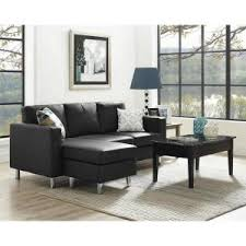Dorel Small Spaces Piece Configurable Taupe Sectional Sofa - Small leather sofas for small rooms 2
