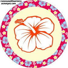 Printable Hawaiian Decorations Free Printable Party Circles For Your Next Beach Party Pool Party