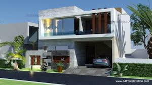 3D Front Elevation Pakistan