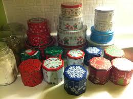 christmas tins time to pack up christmas tiff