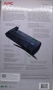 le de bureau usb surgearrest apc surge protector 11 count amazon ca electronics