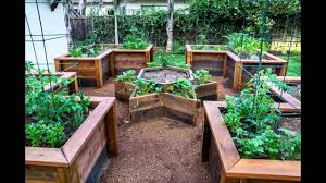 garden ideas raised vegetable garden bed youtube