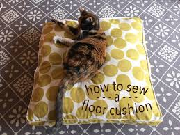 How To Make A Cushion With Zip Create Comfort Anywhere How To Sew A Floor Cushion