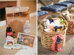 wedding gift bags for hotel 15 ways to welcome your wedding guest the magazine