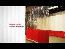 Industrial Curtain Wall Industrial Curtains U0026 Divider Curtain Walls Youtube