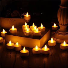 led battery operated flameless tealight candles 24pc bulk pack