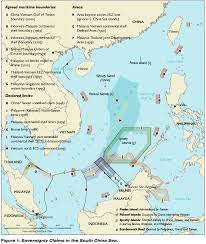 sea of map territorial claims maps the south china sea