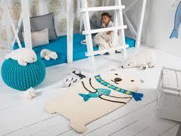 polar bear rugs modern kids manchester by the rug seller