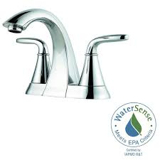 Price Pfister 49 Series by Pfister Pasadena 4 In Centerset 2 Handle Bathroom Faucet In