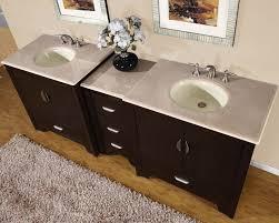 amazon com silkroad exclusive marble top double sink bathroom