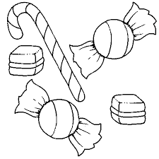 dessin bonbon a colorier tegnehalløj pinterest bullet
