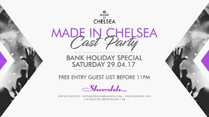 made in chelsea cast party at shooshh bank holiday saturday 29 04