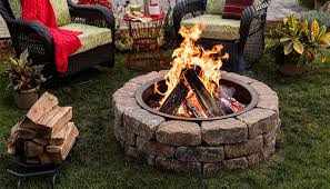 How To Make A Table Fire Pit - how to build a fire pit ring