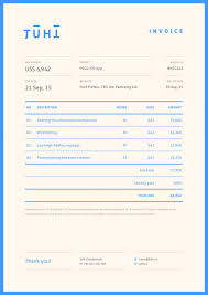 graphic design invoice template juhi chitravanshi modern bright