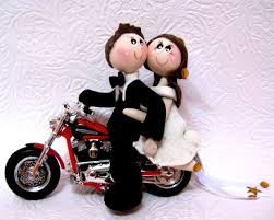 motorcycle wedding cake toppers motorcycle wedding cake topper bike wedding cake topper