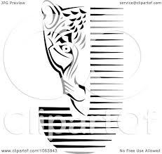 jaguar clipart clipart jaguar and j black and white royalty free vector