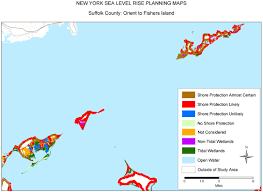 Suffolk County Free Map Free Sea Level Rise Planning Maps Likelihood Of Shore Protection
