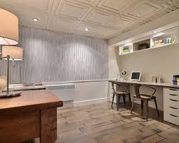 Painting Drop Ceiling by Basement Ceiling Tiles Houzz Basement Ceiling Tile Design Ideas