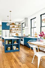 what color floor with blue cabinets 17 blue kitchen ideas for a refreshingly colorful cooking