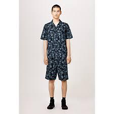 christmas ready to wear hawaiian denim shirt louis vuitton
