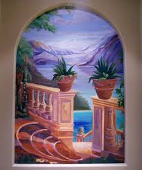 Mural Painting On Canvas by Custom Art On Canvas Custom Murals On Canvas